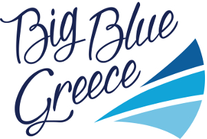 Big Blue Greece - logo