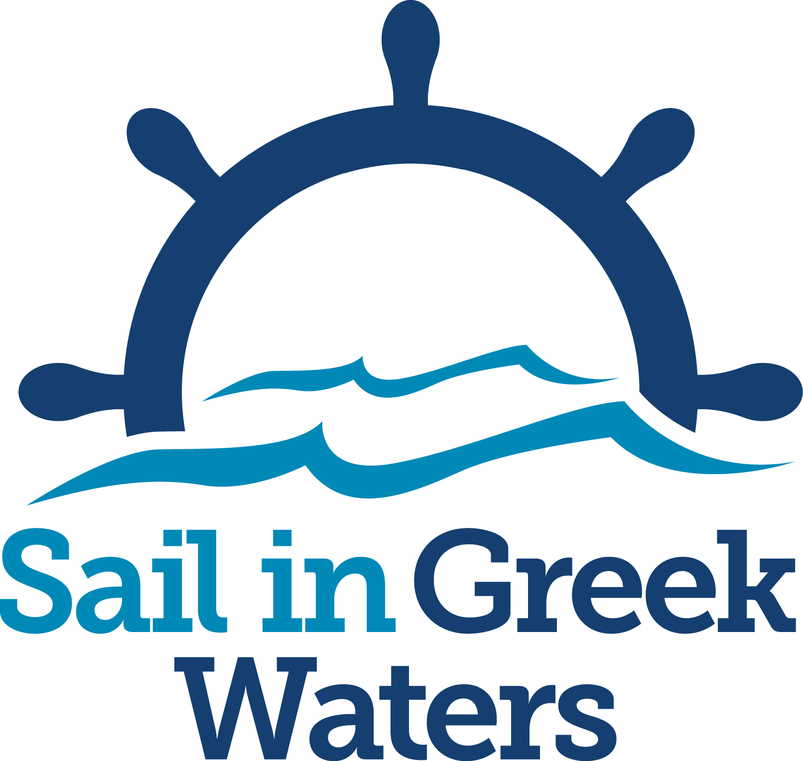 Sail in Greek Waters logo